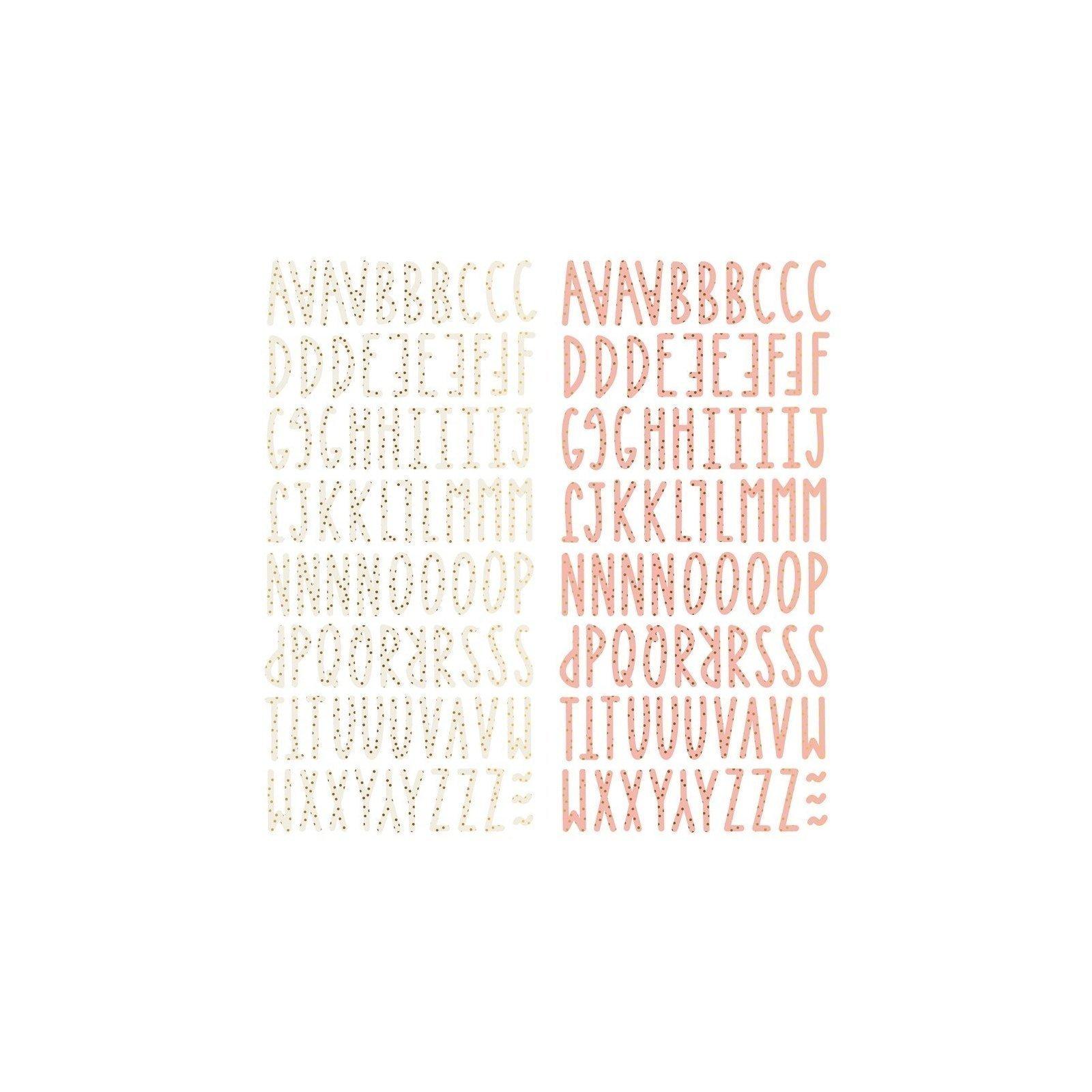 Alphabet chipboards - Muerdago - Mintopia