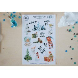 Stickers - Hello December - Winter Fun - Studio Forty