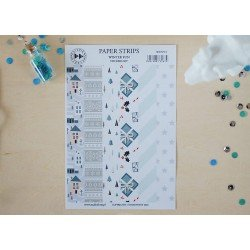Stickers - Paper strips - Winter Fun - Studio Forty