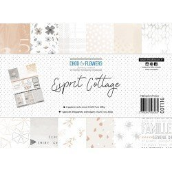 Collection A4 – Esprit Cottage - Chou & Flowers