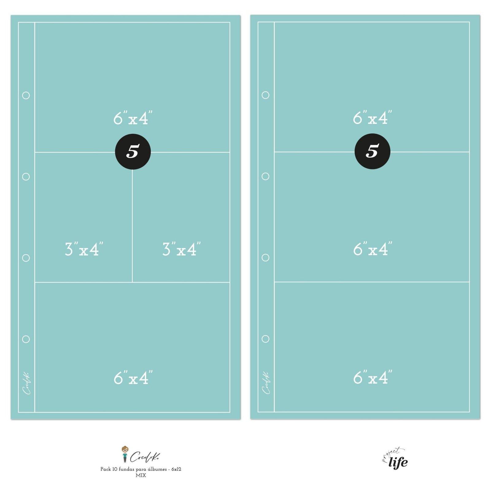 Pochettes plastiques 15 x 30 - Design 612-M - Cocoloko