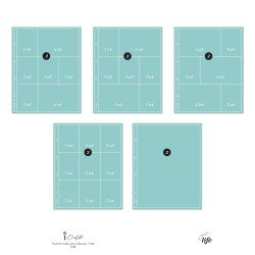 Pochettes plastiques 23 x 30 - Design 10M - Cocoloko