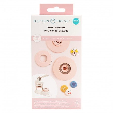 Inserts - Petits - Button Press - We R Memory Keepers