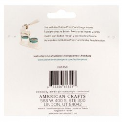 Kit pour rosette - Button Press - We R Memory Keepers