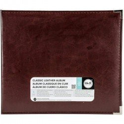 Album - Marron - Cinnamon - Faux Leather - 30x30 - We R Memory Keepers