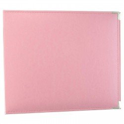 Album - Rose - Pretty Pink - Faux Leather - 30x30 - We R Memory Keepers