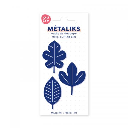 Matrice de coupe - Feuille de papier - Metaliks - Kesi'art