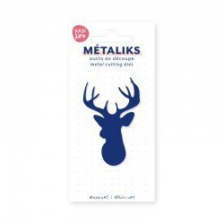 Matrice de coupe - Deer - Metaliks - Kesi'art