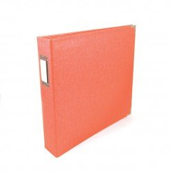 Album - Corail - Coral - Faux Leather - 30x30 - We R Memory Keepers