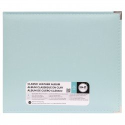Album - Mint - Faux Leather - 30x30 - We R Memory Keepers