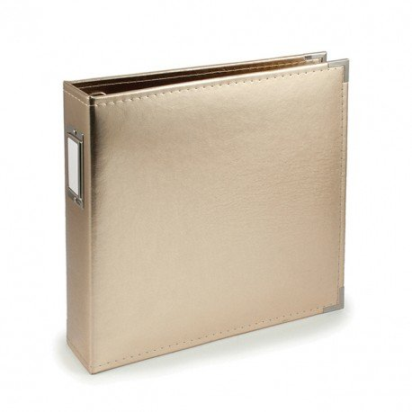 Album - Doré - Gold - Faux Leather - 30x30 - We R Memory Keepers
