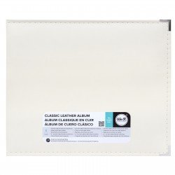 Album - Vanille - Faux Leather - 30x30 - We R Memory Keepers