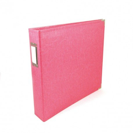 Album - Rose - Strawberry - Faux Leather - 30x30 - We R Memory Keepers