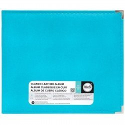 Album - Bleu - Aqua - Faux Leather - 30x30 - We R Memory Keepers