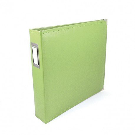 Album - Vert pomme - Kiwi - Faux Leather - 30x30 - We R Memory Keepers