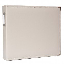 Album - Gris - Greige - Faux Leather - 30x30 - We R Memory Keepers