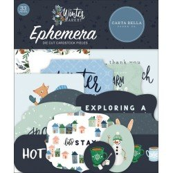 Die-cuts - Ephemeras - Winter Market - Carta Bella