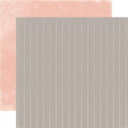 Papier 30 x 30 - Gray Stripes - Rustic Elegance - Carta Bella