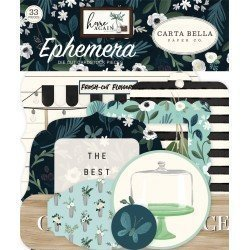 Die-cuts - Ephemeras - Home Again - Carta Bella