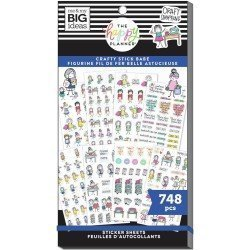 Sticker book - Stick Girls Craft - Me & my big ideas