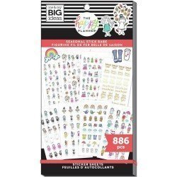 Sticker book - Stick Girls Seasonal - Me & my big ideas