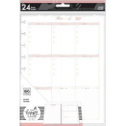 Recharges pour Classic Happy Planner - Minimalist - Weekly Schedule - MAMBI