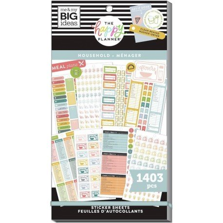 Sticker book - Daily Chores - Me & my big ideas