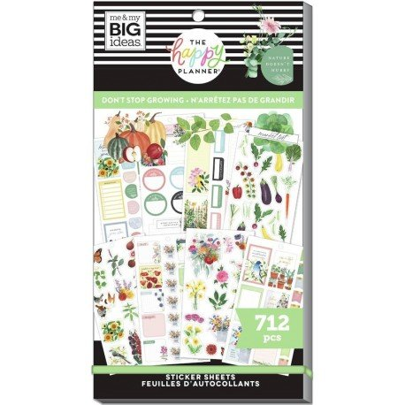 Sticker book - Don't Stop Growing - Me & my big ideas