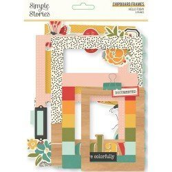 Chipboards Cadres - Hello Today - Simple Stories