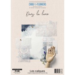 Collection A4 – Les calques - Dans la lune - Chou & Flowers