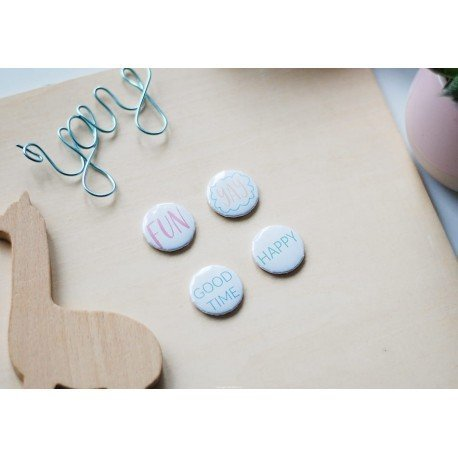 Badges - Let's party - Studio Forty