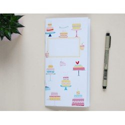 Notebook - Cakes - Let's party - Studio Forty