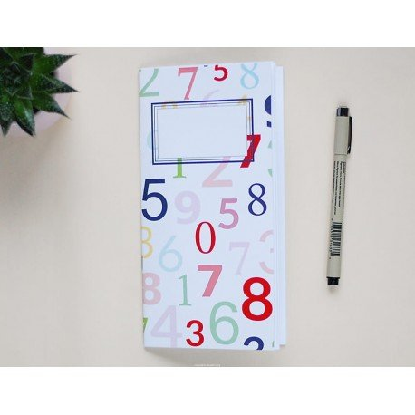 Notebook - Numbers - Let's party - Studio Forty