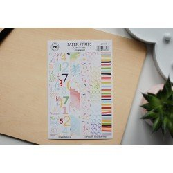 Stickers - Paper strips - Let's party - Studio Forty