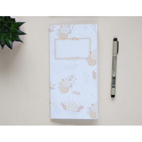 Notebook - Baby Flowers - Don't grow up - Studio Forty