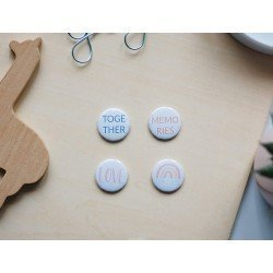 Badges - Don't grow up - Studio Forty