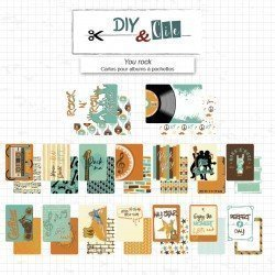 Cartes Project Life - You rock - DIY & Cie