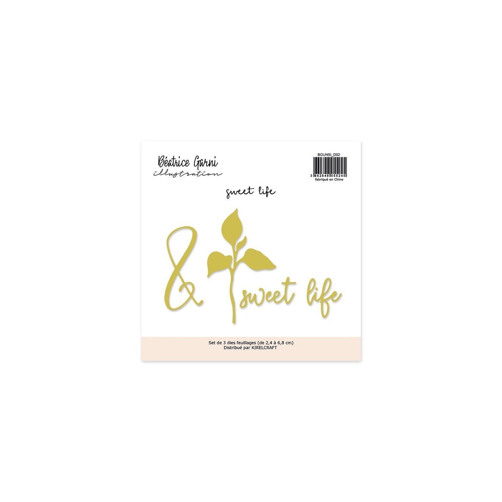 Matrices de coupe - Sweet Life - Un si beau moment - Béatrice Garni