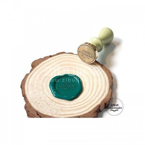 Sceau - Joyeux anniversaire - Cachet de cire - Zibuline