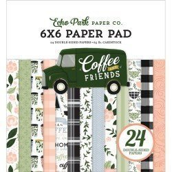 Paper pad - Coffee & Friends - Echo Park Paper