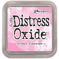 Grand encreur rose Distress Oxide - Kitsch Flamingo - Ranger
