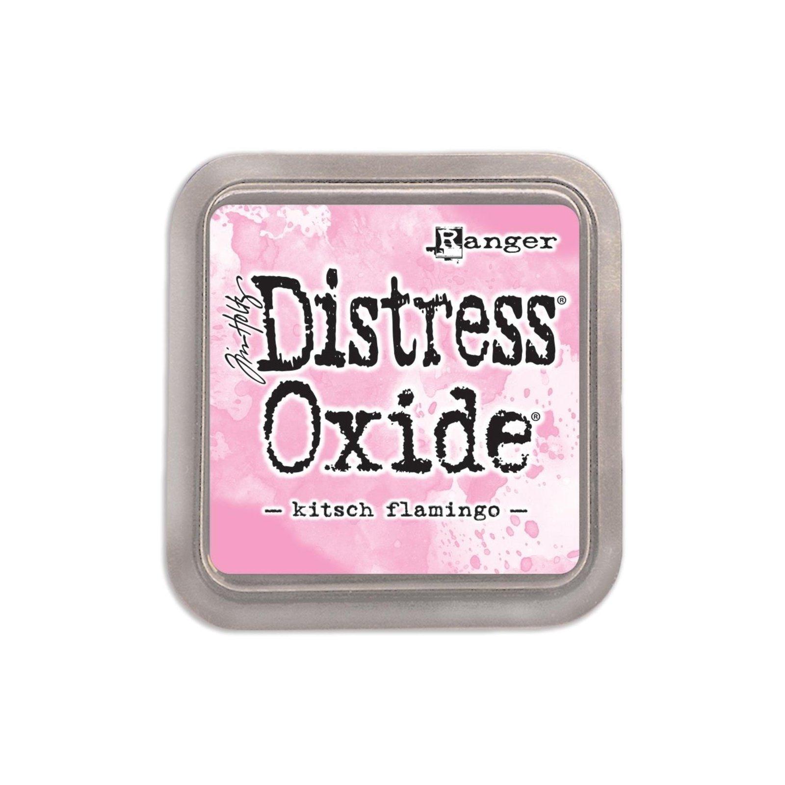 Grand encreur rose Distress Oxide - Kitsch Flamingo - Ranger