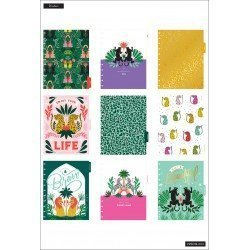 Big Happy Planner - 2021/2022 - Jungle Vibes - 18 mois - Dashboard layout - MAMBI