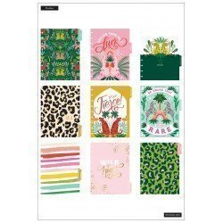 Classic Happy Planner - 2021/2022 - Jungle Vibes - 18 mois - Colorblock layout - MAMBI