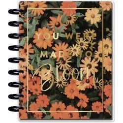 Classic Happy Planner - 2021/2022 - Moody Florals - 18 mois - Vertical layout - MAMBI
