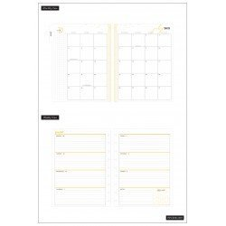 Classic Happy Planner - 2021/2022 - Life In Bloom - 18 mois - Horizontal layout - MAMBI