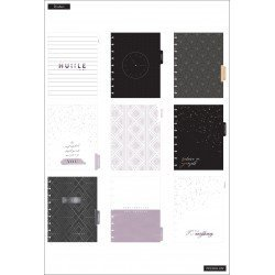 Classic Happy Planner - 2021/2022 - With Goals - 18 mois - Colorblock layout - MAMBI