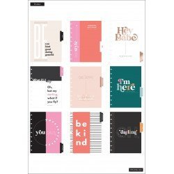Classic Happy Planner - 2021/2022 - Oh Darling - 18 mois - Vertical layout - MAMBI