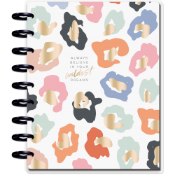 Classic Happy Planner - 2021/2022 - Colorful Leopard - 18 mois - Vertical layout - MAMBI