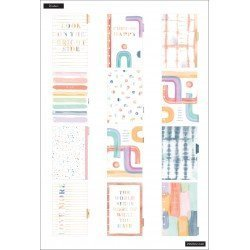 Mini Happy Planner - 2021/2022 - Painterly Pastels - 12 mois - Vertical layout - MAMBI